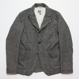 Engineered Garments - Bedford Jacket,Grey Glen Plaid Wool Flannel