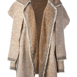 CHANEL, VINTAGE - 1980s wool coat