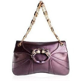 gucci - Limited Edition Violet Tom Ford Dragon Shoulder Handbag