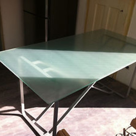 IKEA - Glass Table