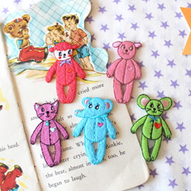 Curly Collection - wappen set★Curly Animals