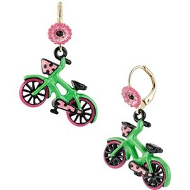 BETSEY JOHNSON - Bicycle Drop Earring