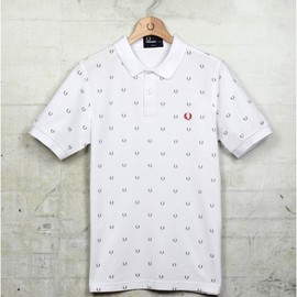 Fred Perry - Laurel Wreath Printed Shirt